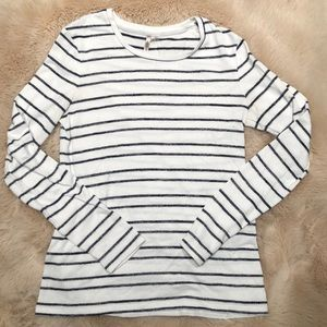 Banana Republic Striped Long Sleeve Sweater